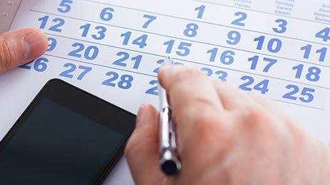 Menstruatiekalender